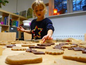 Weihnachtlicher Plätzchen-Workshop für Kids im Quartierladen