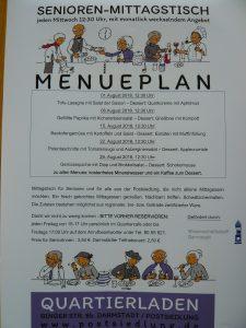 SeniorInnen-Mittagstisch: Neuer Menueplan August jetzt hier online…