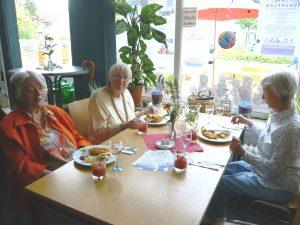 SeniorInnenmittagstisch: Guter Start in den ersten vier Wochen…
