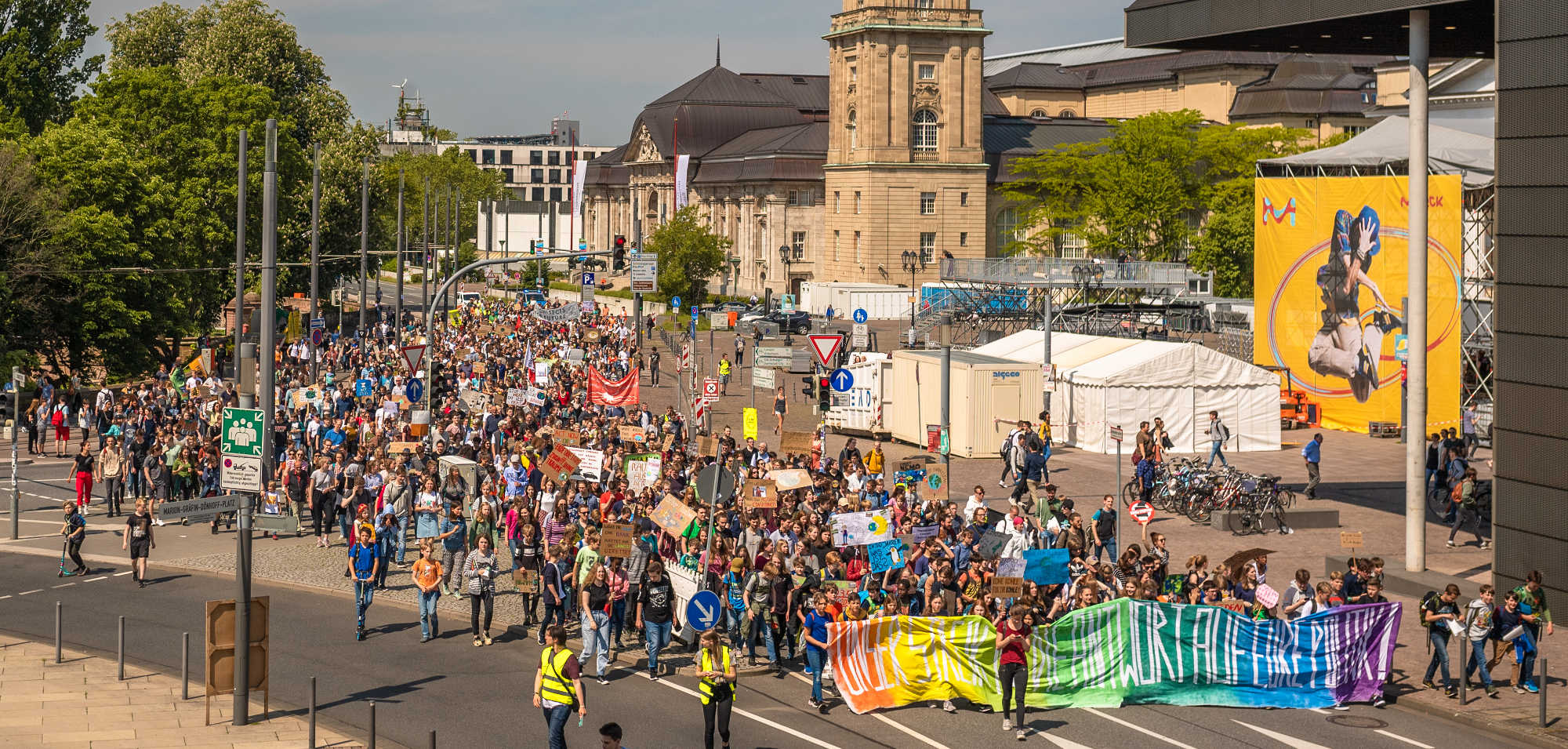 Quartierladen solidarisiert sich mit Fridays for Future und Initiative Klimanotstand Darmstadt