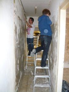 Gelungener Auftakt der Umsonstladen-Renovierung – wir packen es an!