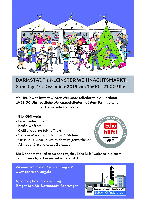 Einladung zu unserem Weihnachtsmarkt auf dem Quartierplatz am 14. Dezember…