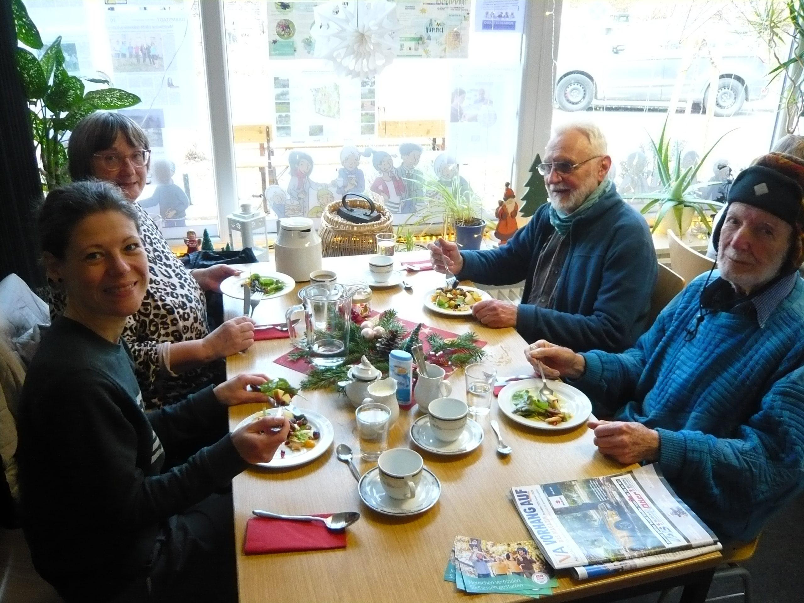 SeniorInnen-Mittagstisch im Jahr 2019 – DANKE für das tolle Feedback!