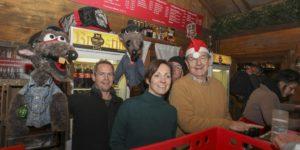Weihnachtsmarkt am 05.Dezember: Danke an Charly Landzettel und das Kikeriki-Theater!