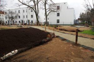 Biotop Postsiedlung: Es ist fast vollbracht – am 14. März werden gemeinsam Bio-Stauden gepflanzt…