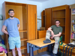 Dankeschön für die tollen Möbel, Firma Akustik Spezial!
