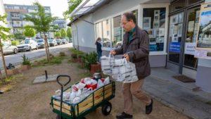 Toller Artikel in der Frankfurter Rundschau über unsere neue Aktion gegen den Corona-Wohnungsblues…