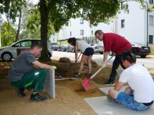 Corona: Neue Hütte auf dem Quartierplatz sichert unsere Angebote in Open Air – Ausführung