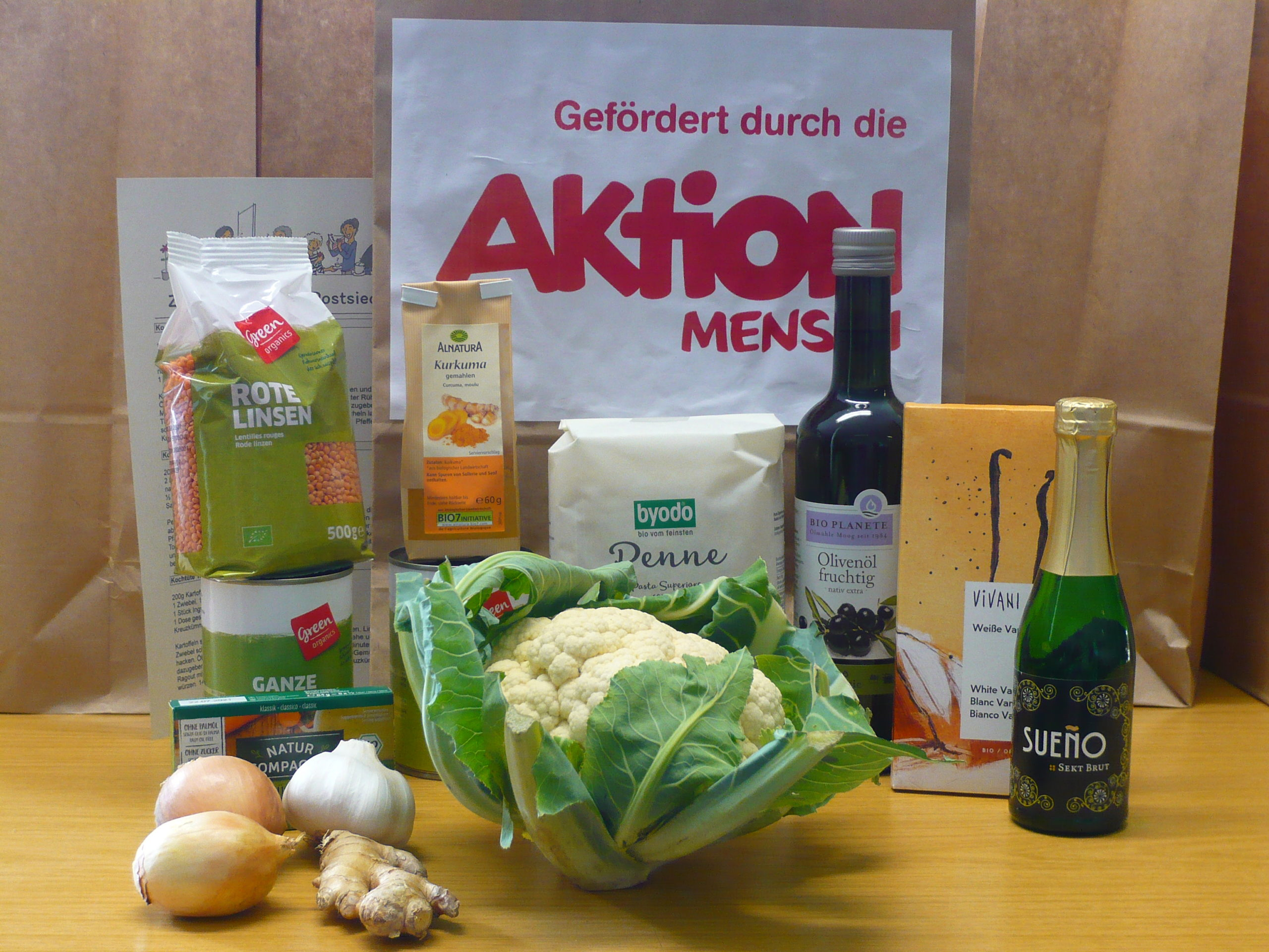 Corona-Hilfe: Das ist unsere vierte kostenfreie Bio-Kochbox…