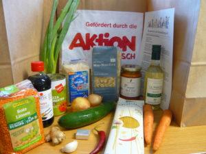 Corona-Hilfe: Die 6. Bio-Kochbox ist da…