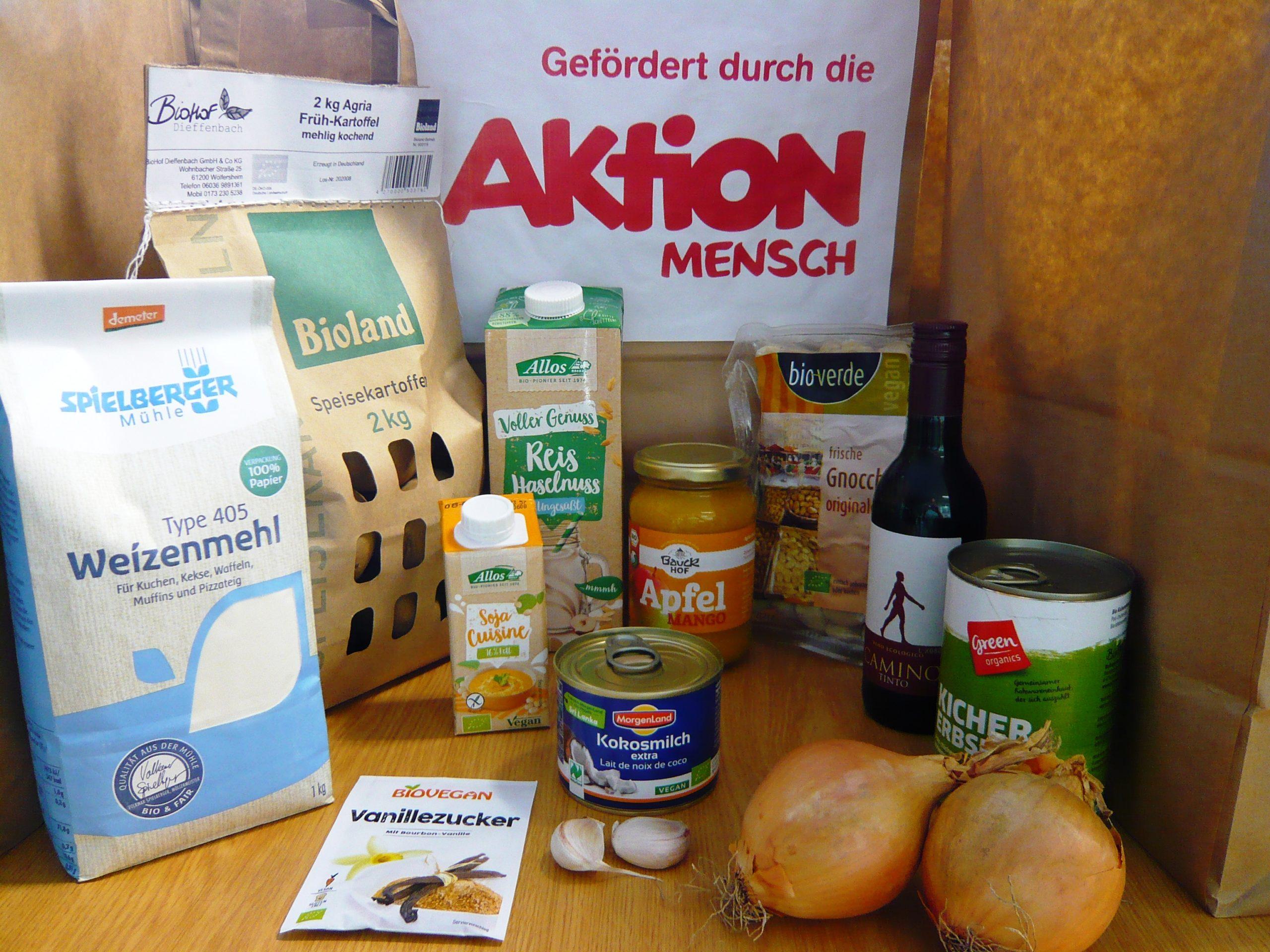 Corona-Hilfe: Vorhang auf für die 7. Bio-Kochtüte…