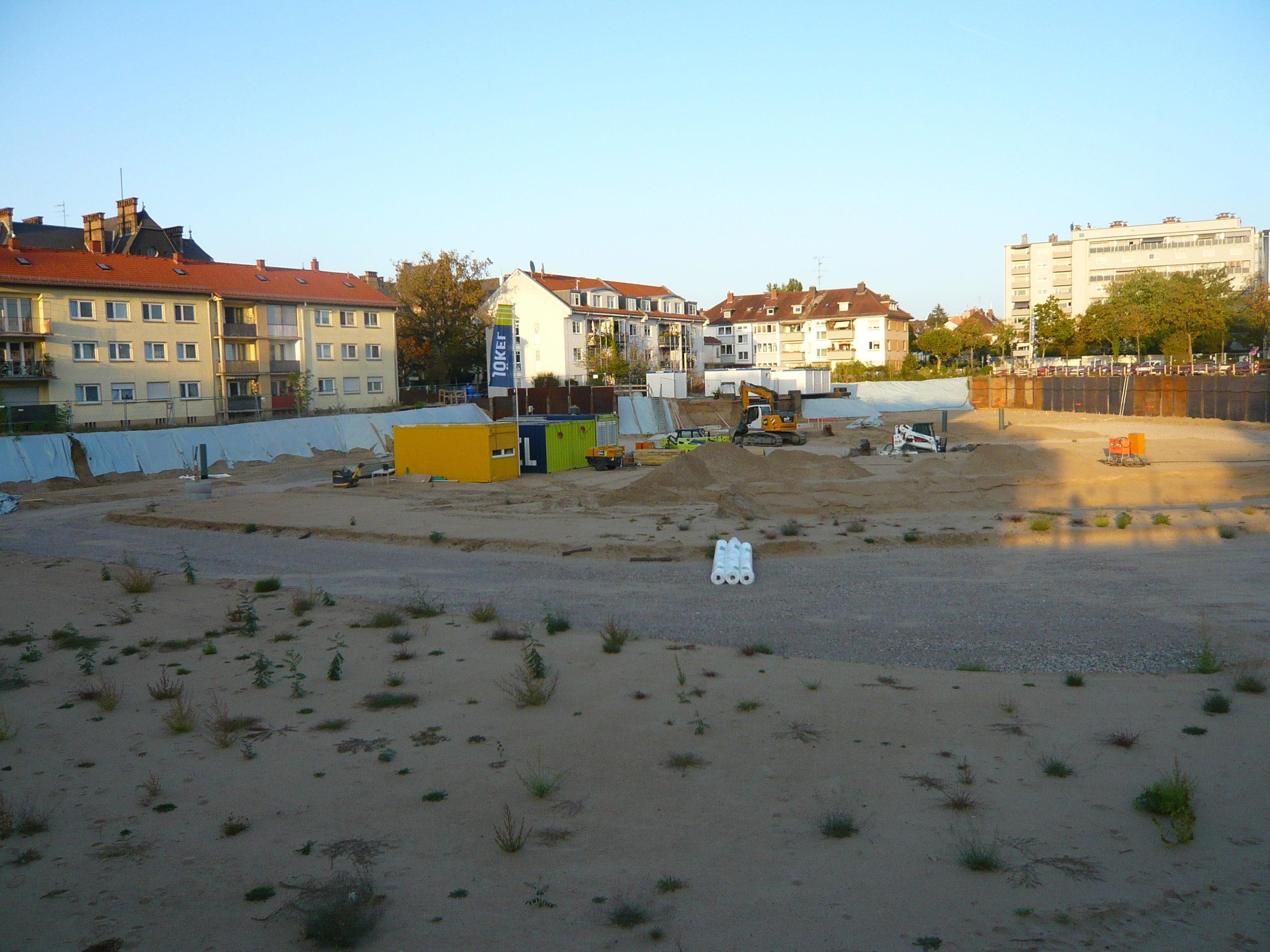 Baustelle Moltkestraße: Bau der neuen Häuser beginnt…