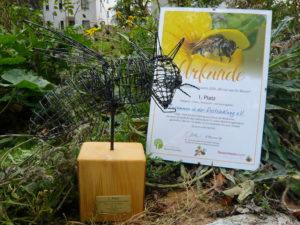 """Read more about the article Biotop: Herzlichen Glückwunsch an die Gewinner des diesjährigen """"Wir tun was für Bienen"""" – Wettbewerb – wir waren in der Jury dabei!"""