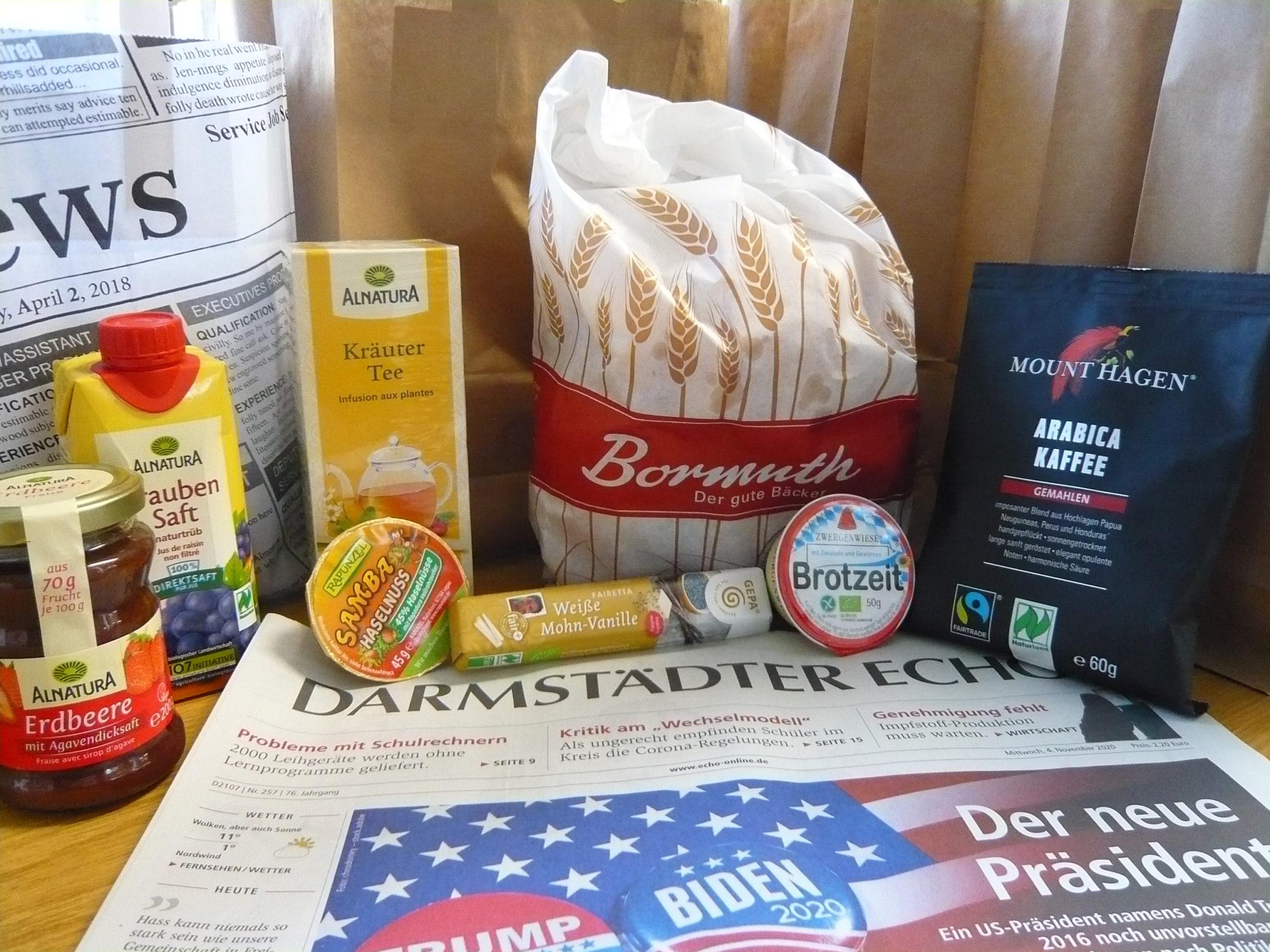 Corona-Hilfe: Die 11. Kochtüte kommt als Frühstücks-Morgengruß daher…