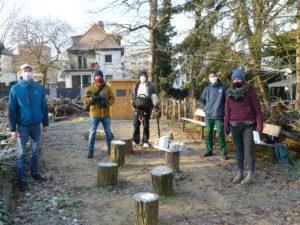 Trotz Eis und Kälte: Toller ZDF-Drehtag im Biotop, unseren sozialen Hilfen und die Perspektiven…