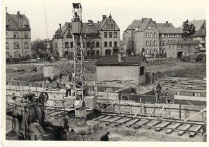 Geschichte: Erste Fotos aus der Bauzeit der Postsiedlung aufgefunden!