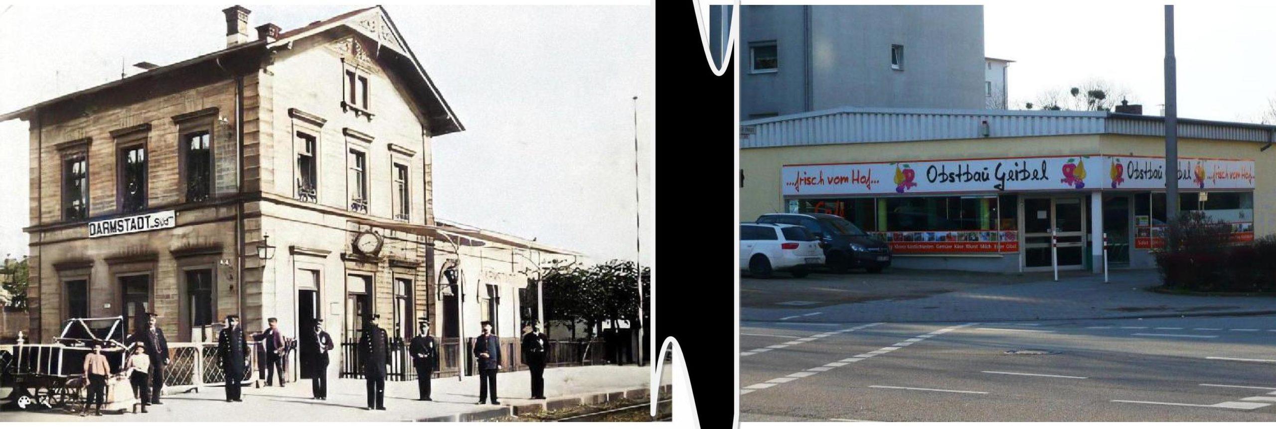 Geschichte des Quartiers: Früher Südbahnhof  – heute Obstbau Geibel