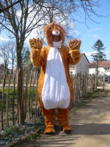 Ostersonntag in Darmstadt: Der Umsonstladen-Osterhase kommt…