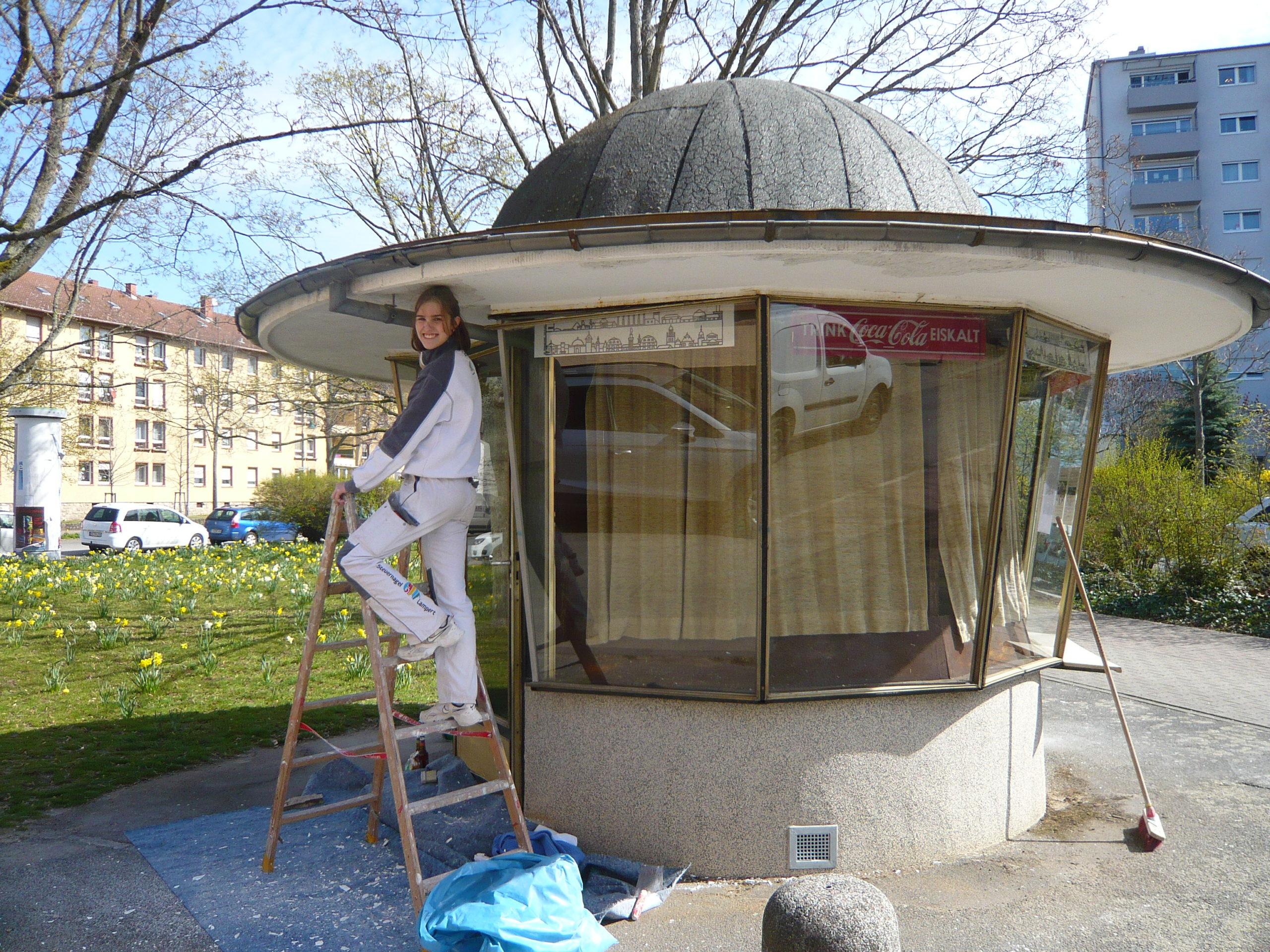 You are currently viewing Kiosk 1975: Denkmalgerechte Sanierung startet!