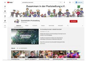Read more about the article Postsiedlung: Kennen Sie schon unseren Youtube-Kanal?