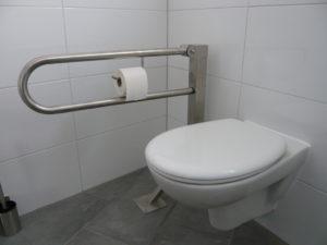 Read more about the article Quartierladen: Letzter Schliff an Barrierefreiheit unserer neuen Toiletten / Arbeitseinsatz