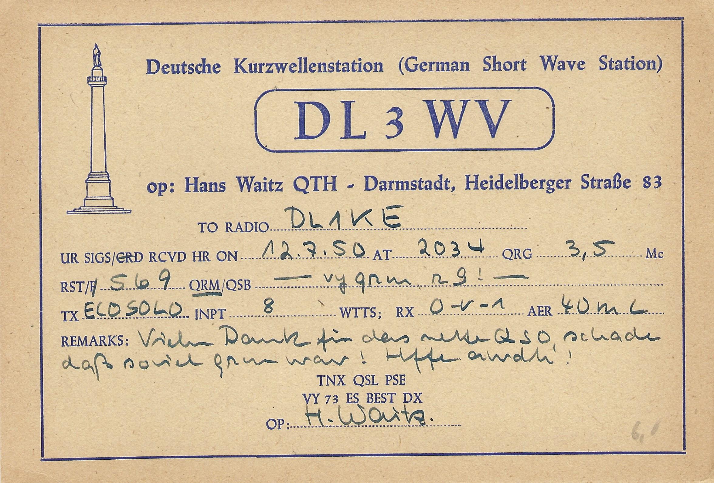 You are currently viewing Historie: Ehemalige Deutsche Kurzwellenstation in der Heidelberger Straße 83 – wer hat dazu noch Informationen?
