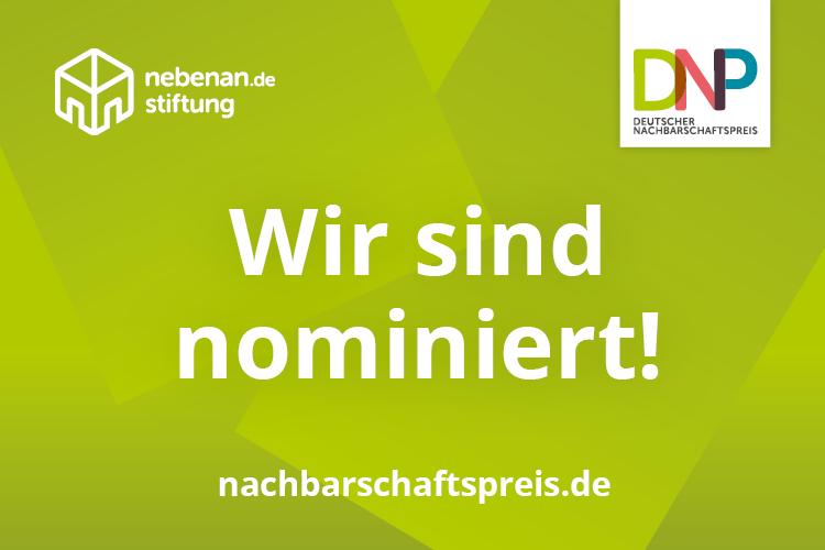Read more about the article Umsonstladen: Wir sind für den Deutschen Nachbarschaftspreis 2021 nominiert!