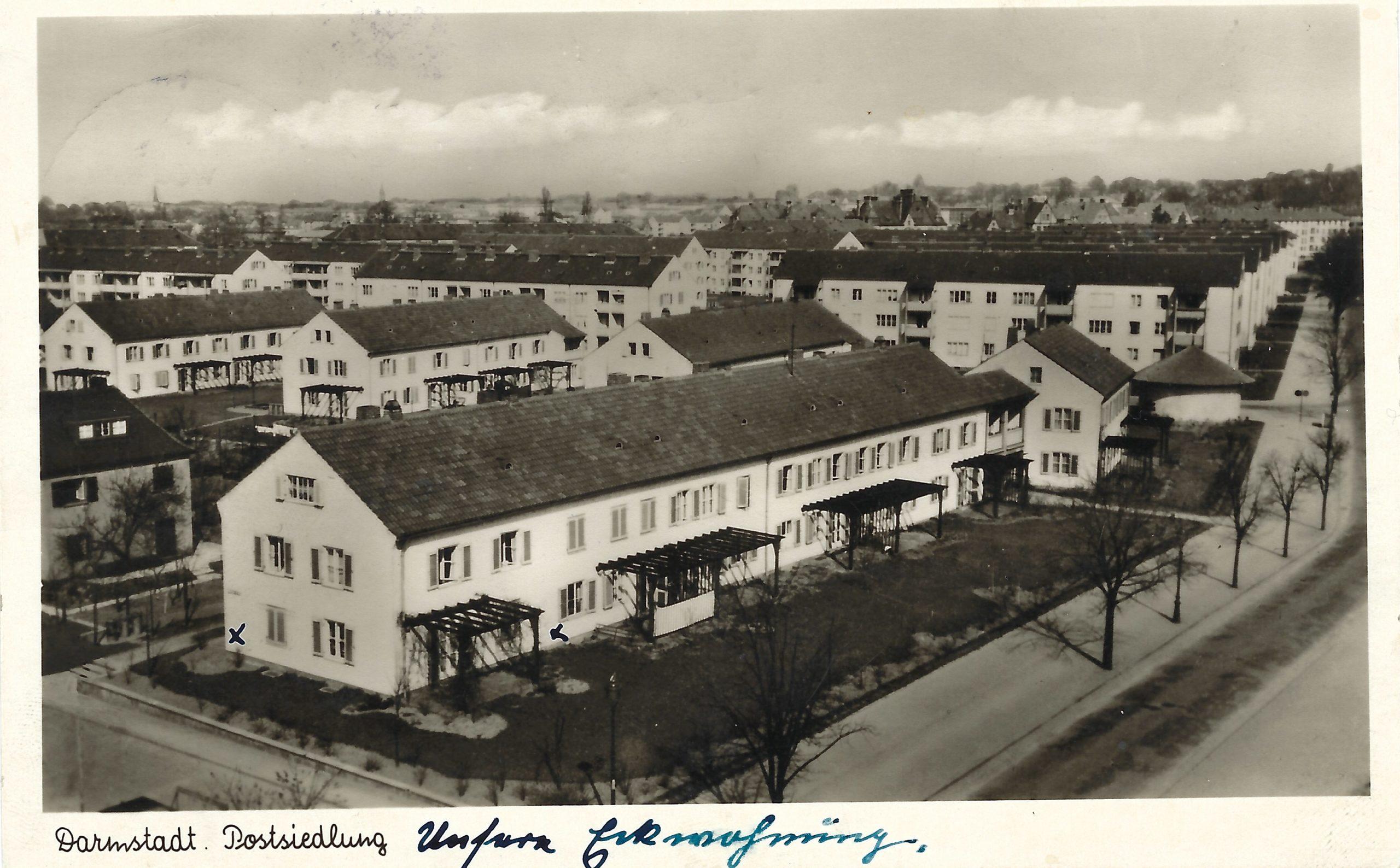 You are currently viewing Historie: Erste bekannte Postkarte der Postsiedlung aufgetaucht!