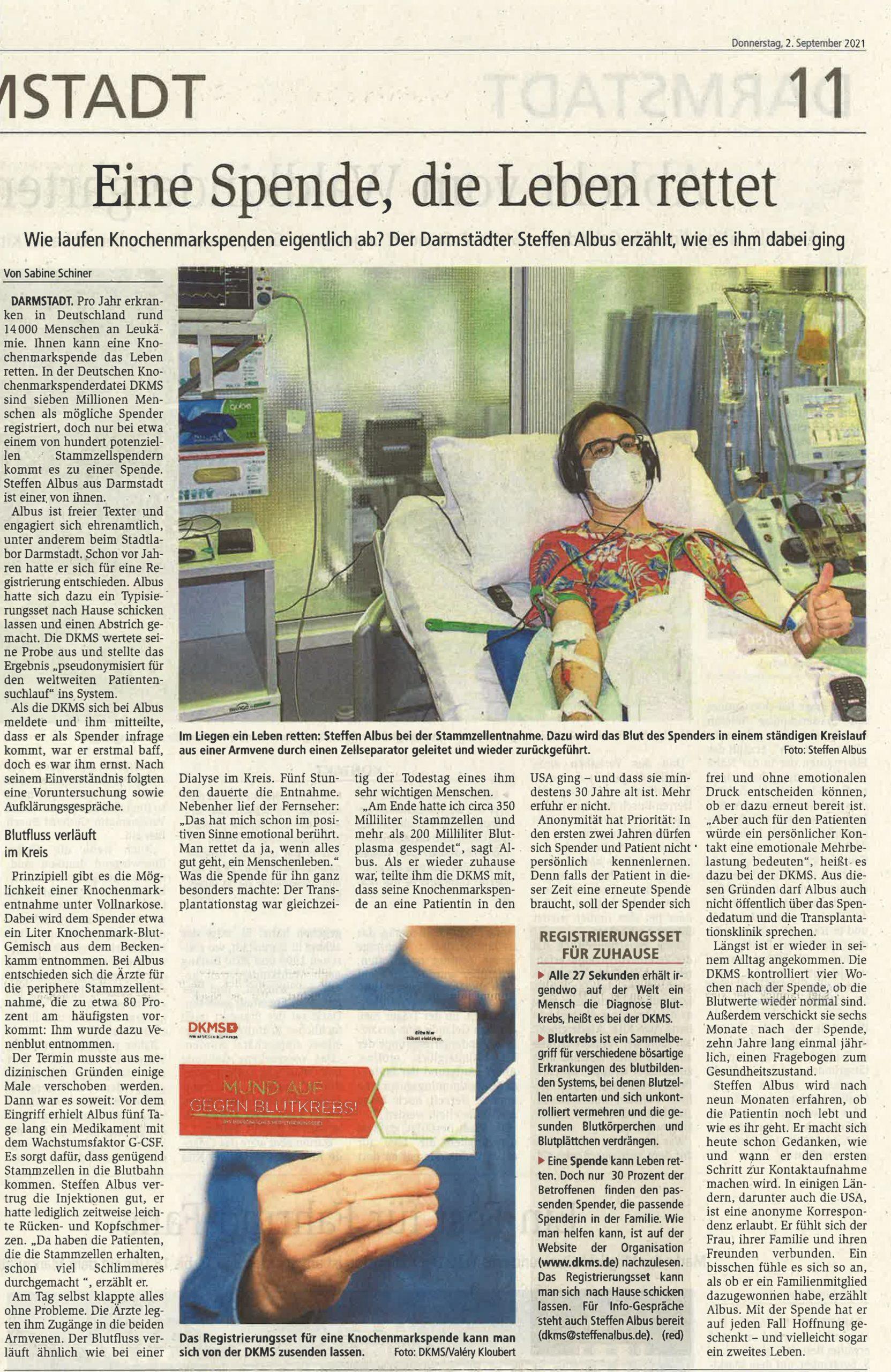 Read more about the article Toller Einsatz: Dankeschön, Steffen Albus!