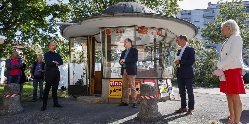 Read more about the article Kiosk 1975: DANKE für die vielen Glückwünsche zum Landesdenkmalschutzpreis!