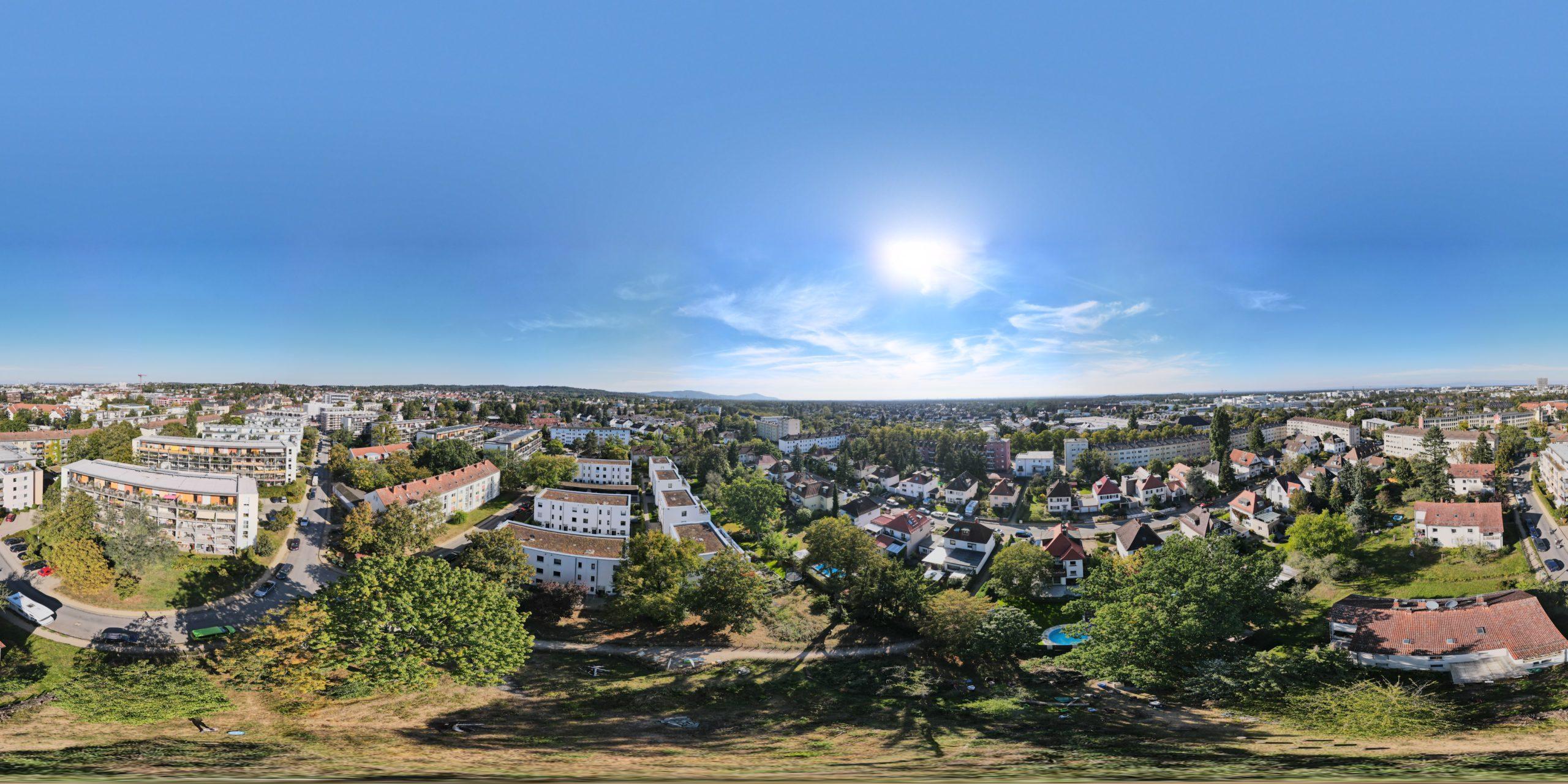Read more about the article Blick auf das Quartier: Neue Luftbilder der Postsiedlung